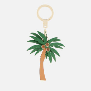 Kate Spade New York Women's Leather Palm Tree Keychain - Multi