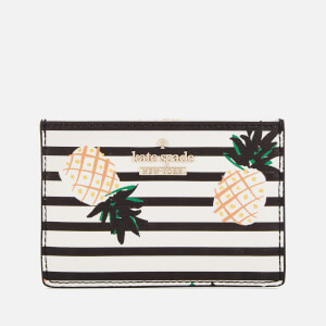 Kate Spade New York Women's Pineapples Card Holder - Multi