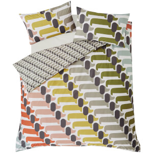 Orla Kiely Dog Show Duvet Cover - Yellow