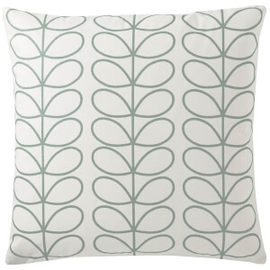 Orla Kiely Small Linear Stem Cushion - Duckegg