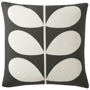 Orla Kiely Multi Stem Cushion - Khaki