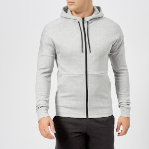 adidas Men's I.D Stadium Full Zip Hoody - Stadium Heather/Grey