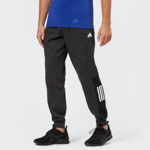 adidas Men's Side Logo Pants - Black Melange
