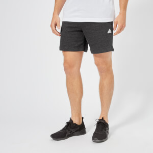 adidas Men's Side Logo Shorts - Black Melange
