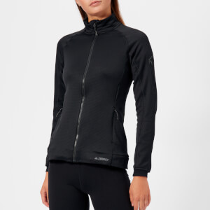 adidas Woman's Terrex Stockholrn Fleece Jacket - Black