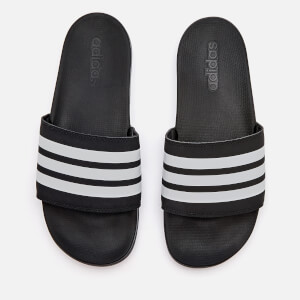 adidas Men's Adilette Comfort Slide Sandals - Core Black