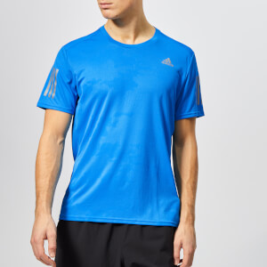 adidas Men's Response Short Sleeve T-Shirt - Bright Blue