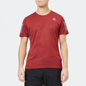 adidas Men's Response Short Sleeve T-Shirt - Noble Maroon
