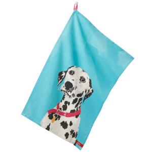 Joules Tea Towels - Daschund/Dalmatian(Set of 2)