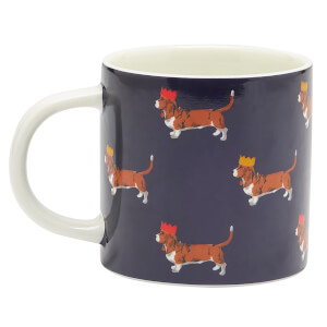 Joules Single Porcelain Mug - Christmas Dog
