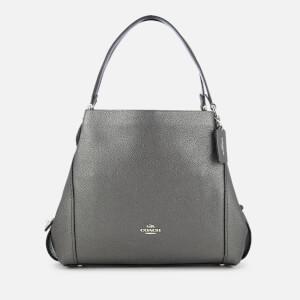 Coach Women's Metallic Edie 31 Shoulder Bag - Metallic Graphite