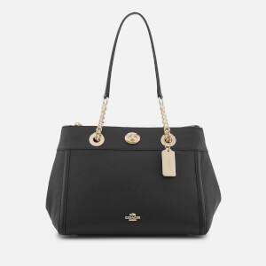 Coach Women's Turnlock Edie Carryall Bag - Black