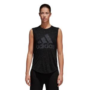 adidas Women's Winners Tank Top - Black