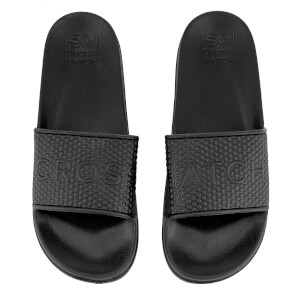 Crosshatch Men's Tulum Sliders - Black