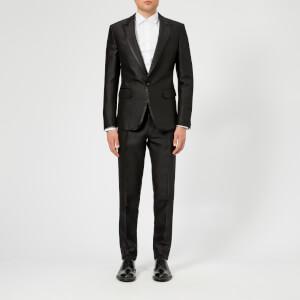 Dsquared2 Men's Silk/Wool London Fit 1 Button Suit - Black