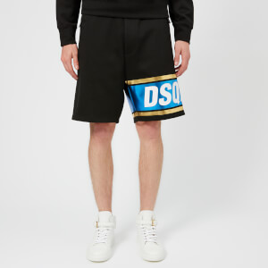 Dsquared2 Men's Over Fit Shorts - Black/Blue