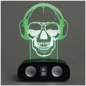 Geräuschreaktive Lautsprecher – Schädel
