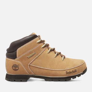 Timberland Men's Euro Sprint Leather Hiker Style Boots - Wheat