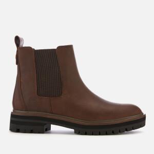 Timberland Women's London Square Leather Chelsea Boots - Dark Rubber Mincio