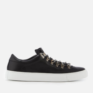 Diemme Men's Marostica Low Leather Trainers - Black