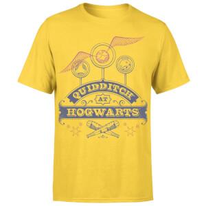 Harry Potter Quidditch At Hogwarts Men's T-Shirt - Yellow