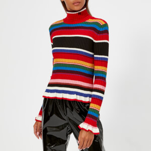 MSGM Women's Multi Stripe Jumper - Multi