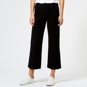 J Brand Women's Joan High Rise Crop Jeans - Black