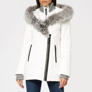 Mackage Women's Adali Fur Parka - White