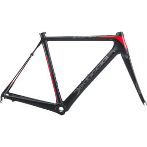 Dedacciai Gladiatore 2 Frameset - Black/Red