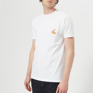 Vivienne Westwood Anglomania Men's Boxy Small Logo T-Shirt - White