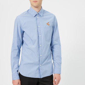 Vivienne Westwood Anglomania Men's Classic Shirt - Blue
