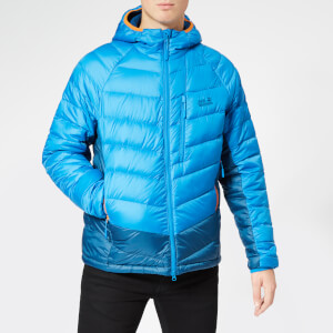 Jack Wolfskin Men's Neon Jacket - Electric Blue