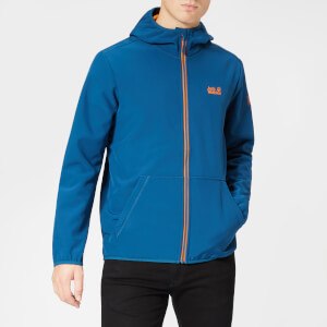 Jack Wolfskin Men's Essential Peak Jacket - Poseidon Blue