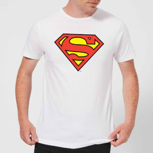DC Originals Official Superman Shield Herren T-Shirt - Weiß