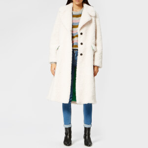 PS by Paul Smith Women's Boucle Coat - Cream