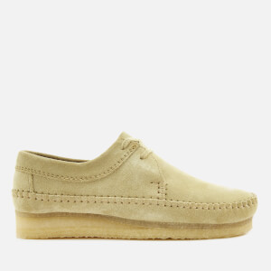 Clarks Originals Men's Weaver Suede Shoes - Maple