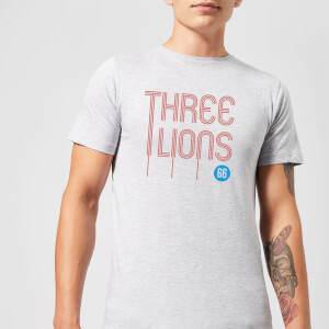Three Lions Herren T-Shirt - Grau