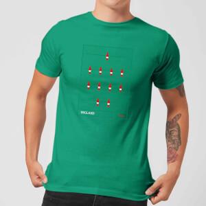 England Fooseball Herren T-Shirt - Grün