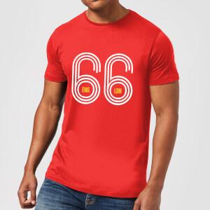 England 66 Herren T-Shirt - Rot
