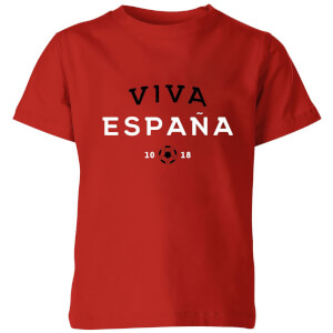 T-Shirt Enfant Viva España Football - Rouge