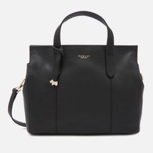 Radley Women's Abbotsford House Medium Multiway Grab Open Top Tote Bag - Black