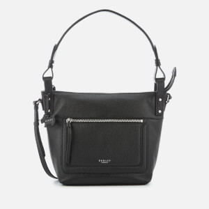 Radley Women's Eltham Palace Medium Shoulder Bag with Zip Top - Black