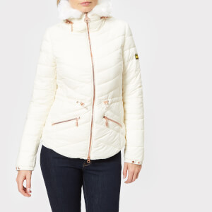 Barbour International Women's Velencia Quilt Jacket - Latte