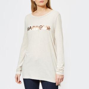 Barbour International Women's Grandstand T-Shirt - Oatmeal