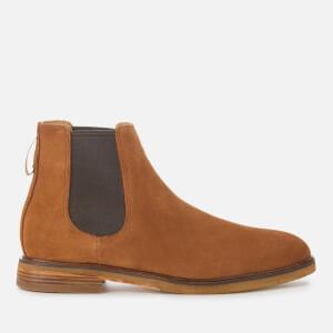 Clarks Men's Clarkdale Gobi Suede Chelsea Boots - Dark Tan