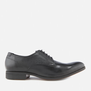 Clarks Men's Gilmore Walk Leather Derby Shoes - Black
