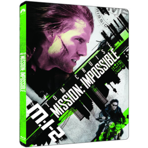 Mission Impossible II 4K Ultra HD (avec Version 2D) - Steelbook Exclusif Limité pour Zavvi (Édition UK)