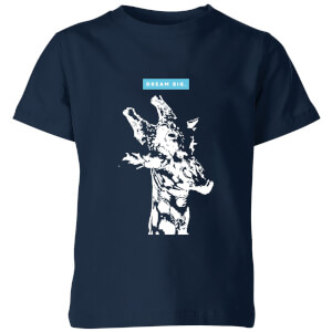 My Little Rascal Dream Big. Kids' T-Shirt - Navy