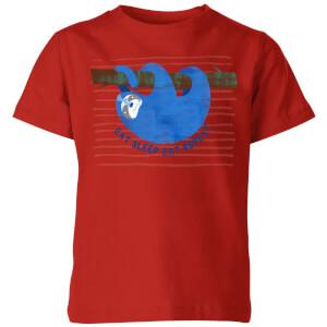 My Little Rascal Eat Sleep Eat Repeat Kids' T-Shirt - Red