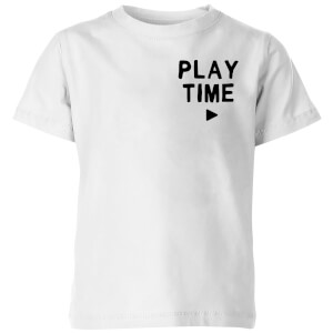 My Little Rascal Play Time Kids' T-Shirt - White